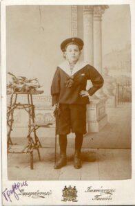 1898 Γρηγόρης Μεζεβίρης παιδί