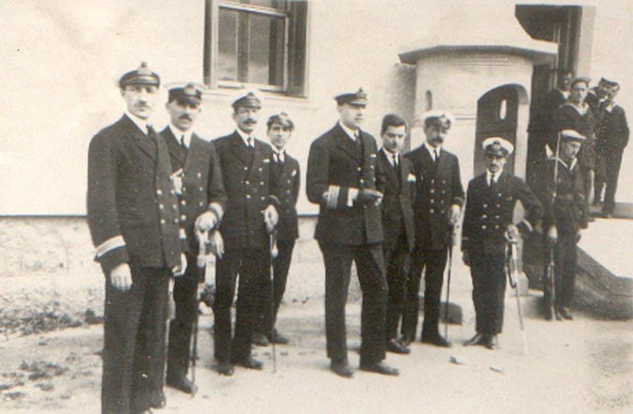 1924 - Διοικητής Ραδιοτηλεγραφικής Υπηρεσίας Ναυτικού