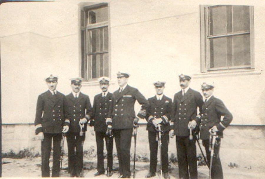 1924 Διοικητής Ραδιοτηλεγραφικής Υπηρεσίας Ναυτικού