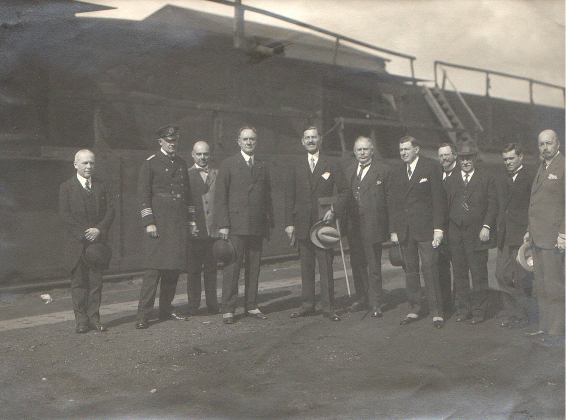 1925 Αμβούργο Διαιτησία ΣΑΛΑΜΙΣ