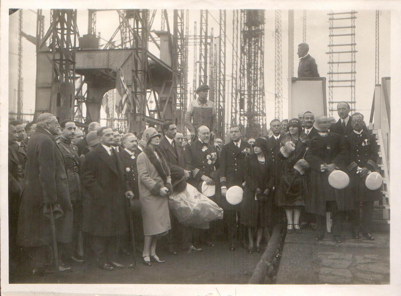 1926 ΝANTES καθέλκυση Ελληνικού ΥΒ