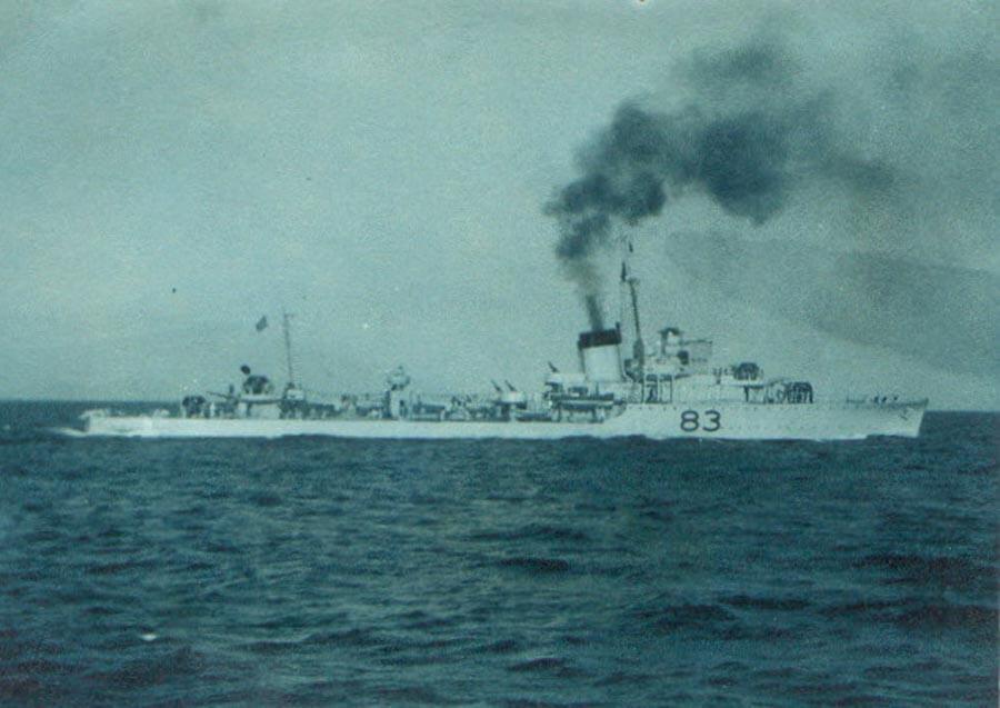 1935 Διοικητής Στολίσκου Αντιτορπιλικών επί ΣΠΕΤΣΩΝ