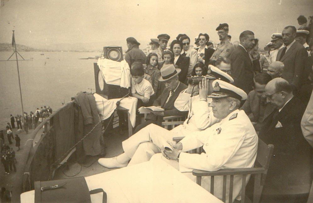 1946 - A Ναυτικοί Αγώνες Παλαιό Φάληρο